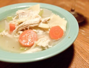 Chicken Noodle Soup from Scratch!
