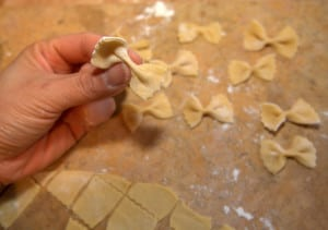 Bow Tie Pasta from Scratch!