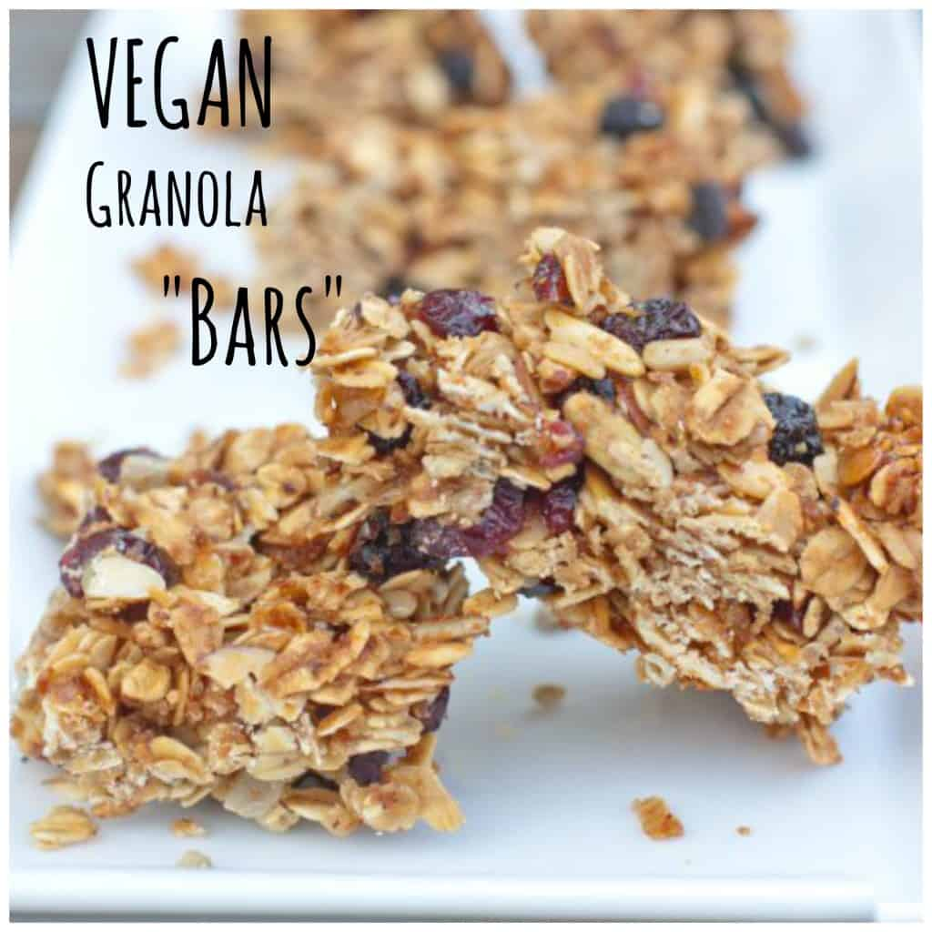 "From Scratch Granola ""Bars"" that will make your Vegan and Non Vegan friends happy!"