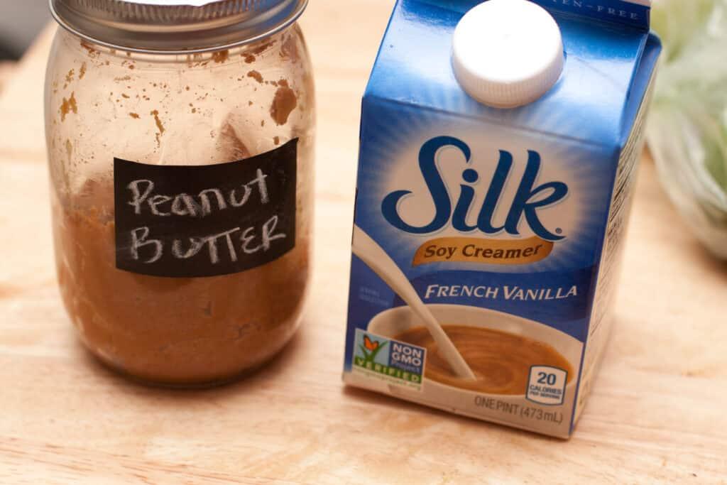 peanut butter and silk creamer