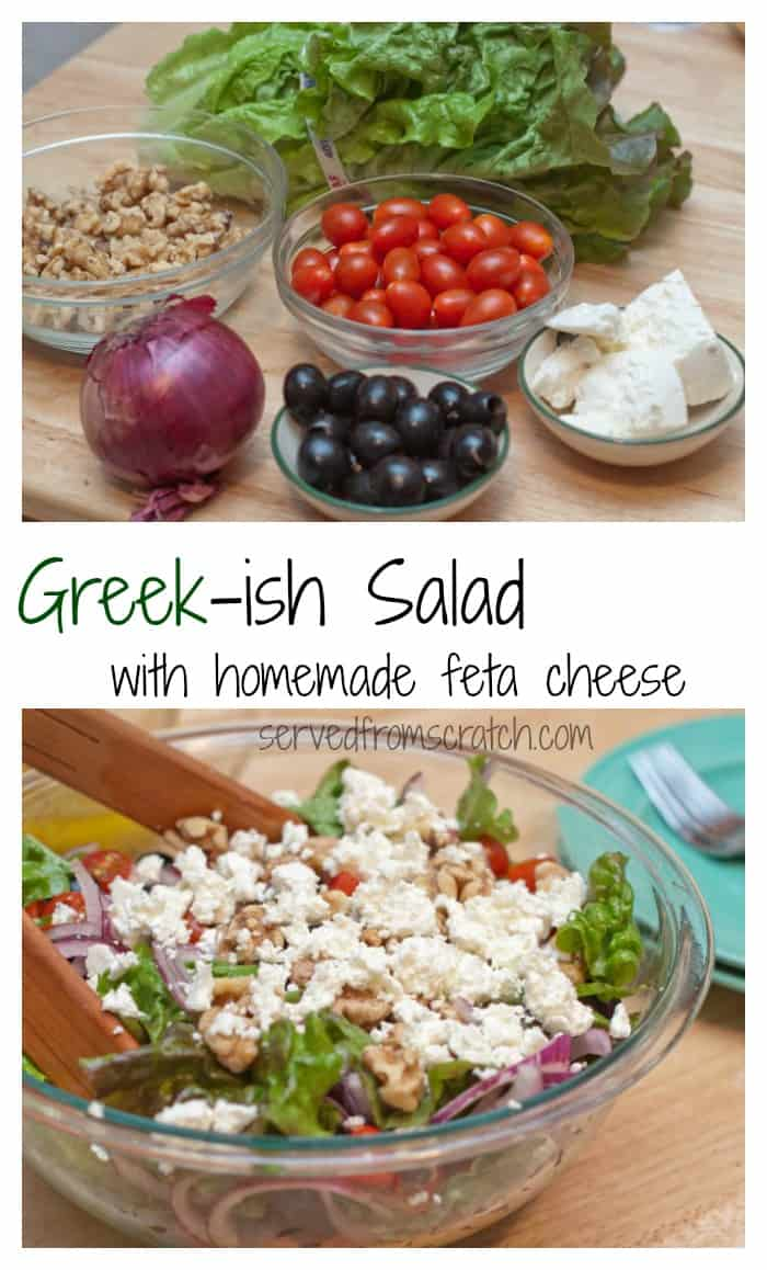 how to make greek salad dressing from scratch