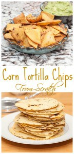 No matter what snacks you're serving for Game Day, some ‪#‎FromScratch‬ Corn Tortilla Chips will take your a snacking game up a level!