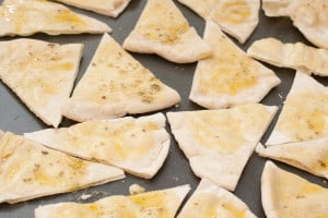From Scratch Pita Chips