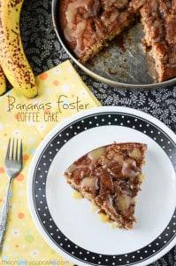 Bananas Foster Coffee Cake