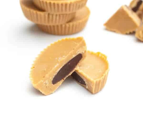 Inside Out Peanut Butter Cups Vegan