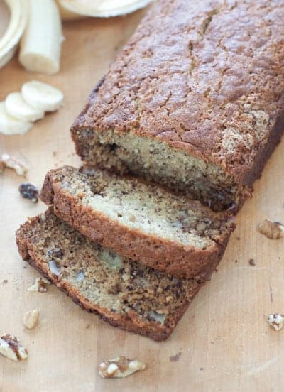 Classic Banana Walnut Bread