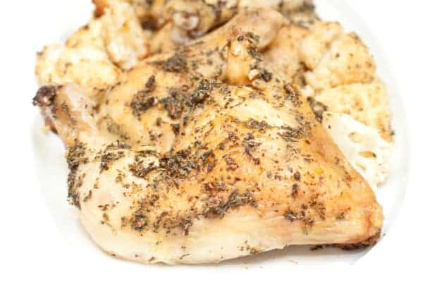 Easy Herbed Chicken