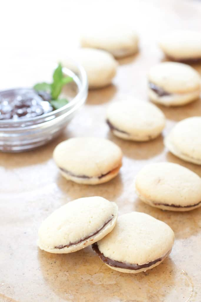 Homemade Milano Cookies Served From Scratch