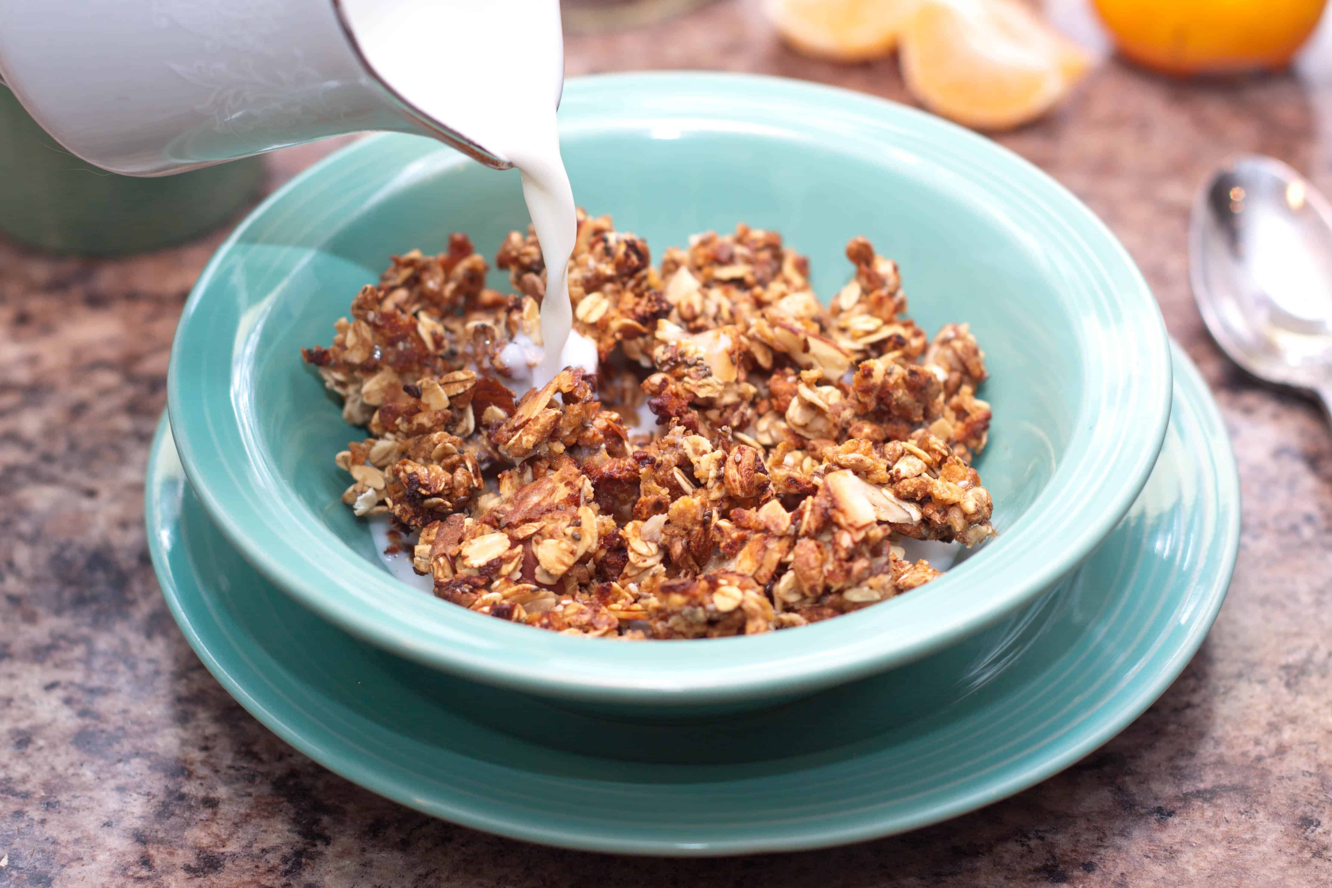 Copycat kashi go lean crunch cereal served from scratch love kashi cereals did you know that you can make your own copy cat kashi ccuart Choice Image
