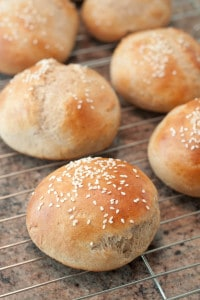 Hamburger Buns from scratch!