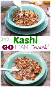 No need to buy your favorite whole grain healthy cereal, you can make it at home, from scratch!