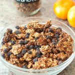 Blueberry Almond Granola