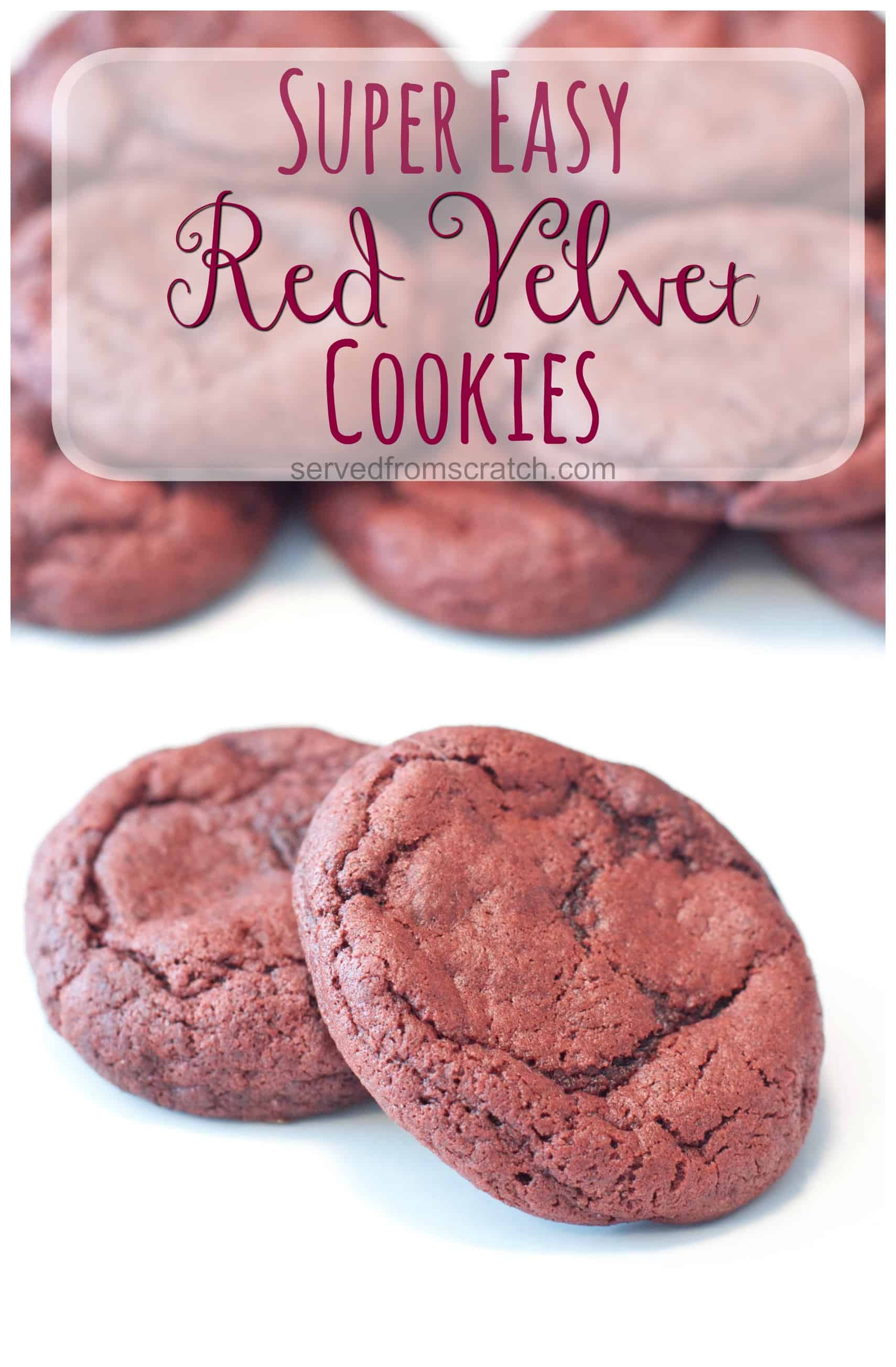 Red Velvet Cake Cookies Recipe From Scratch