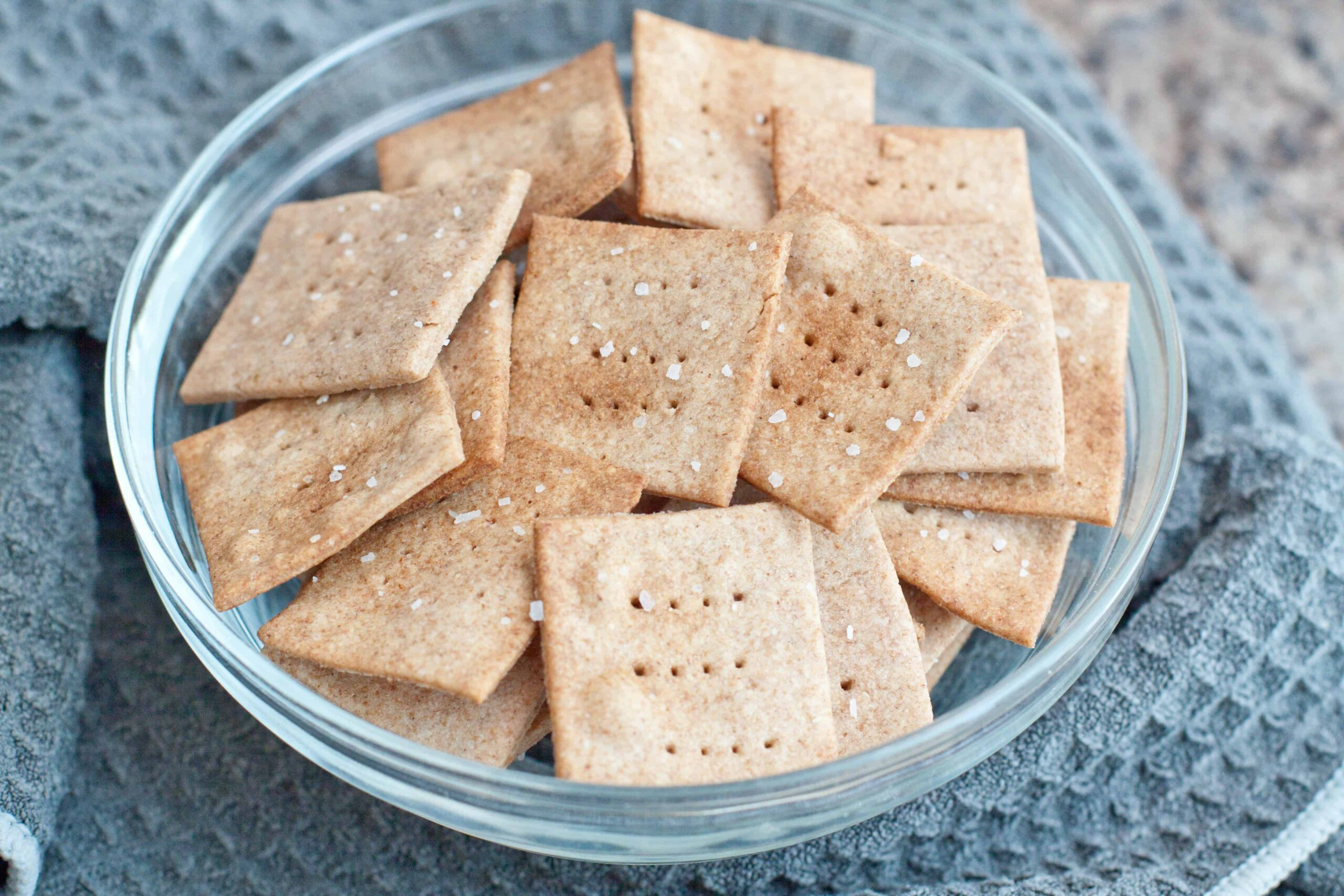 Make your own homemade, easier than you think, Wheat Thins From Scratch with just 6 simple ingredients!