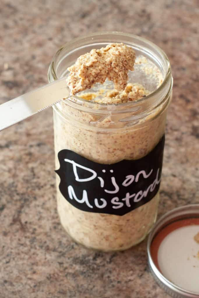Making your own Dijon Mustard from scratch is way easier than you think!