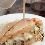 Fresh Ricotta and Spinach Stuffed Chicken