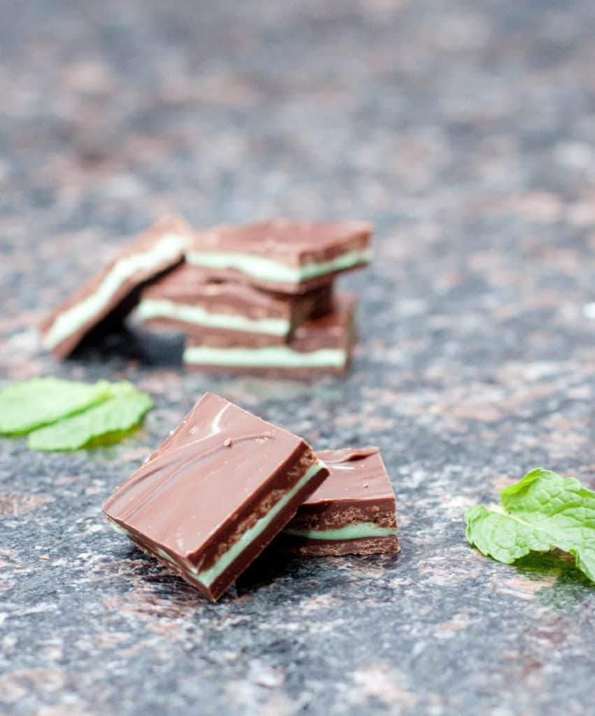 With just 4 ingredients you can make your Homemade Andes Mints!