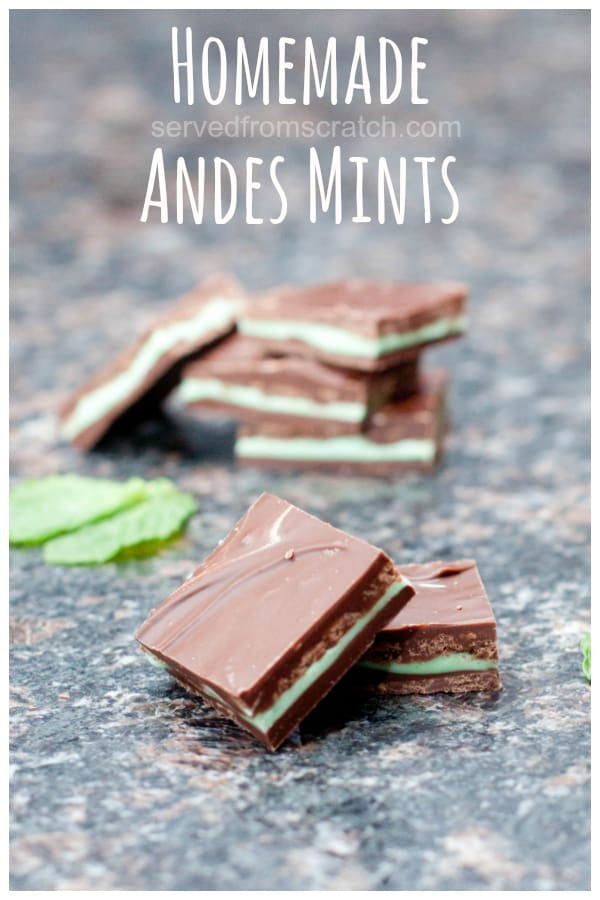 stacked andes mints