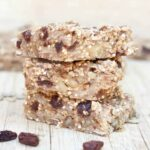 Chewy Banana Quinoa Bars - Vegan, Gluten, and Peanut Free