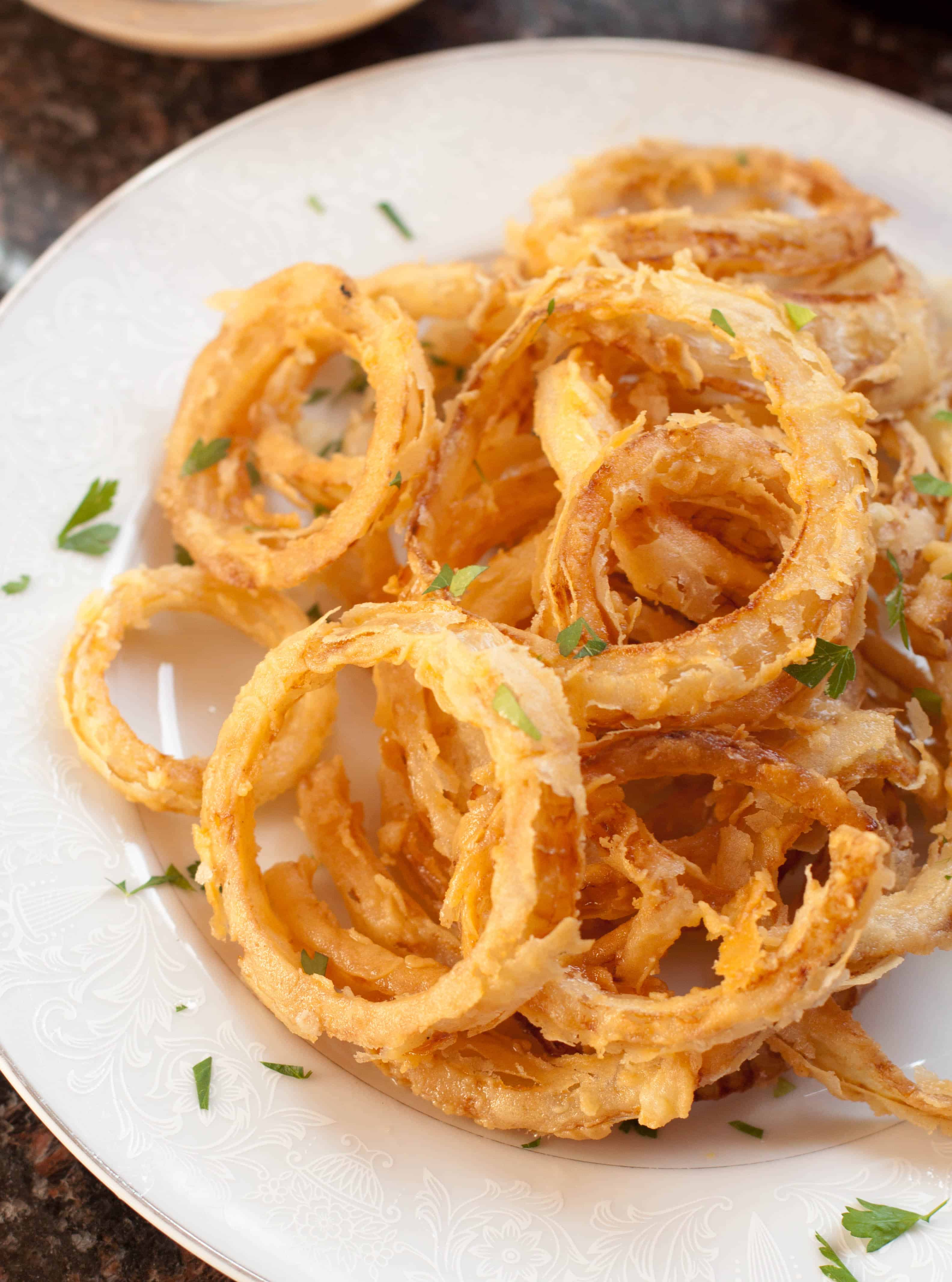 How Do I Make Onion Rings From Scratch