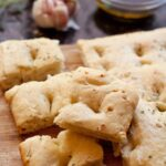 Easy Garlic Rosemary Focaccia