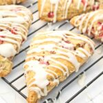 Strawberries and Cream Scones