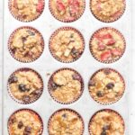 Healthy Toddler Banana Oat Muffins - 3 Ways!
