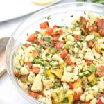 Grilled Corn and Pepper Salad