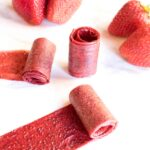Strawberry Fruit Roll Ups - No Added Sugar!