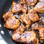 Sweet and Spicy Sriracha Chicken Thighs