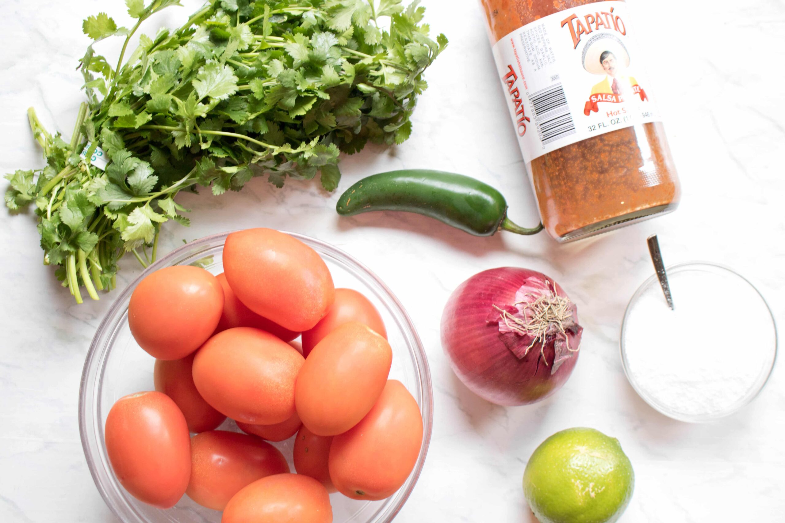Forget store bought!  You can make your own Fresh, Easy Pico de Gallo From Scratch with just a few simple ingredients and less than 10 minutes!