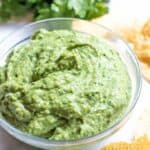 Fresh Spinach Guacamole